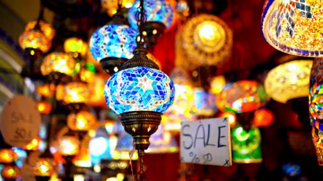 Famous Grand Bazar shop sale in Istanbul Turkey video