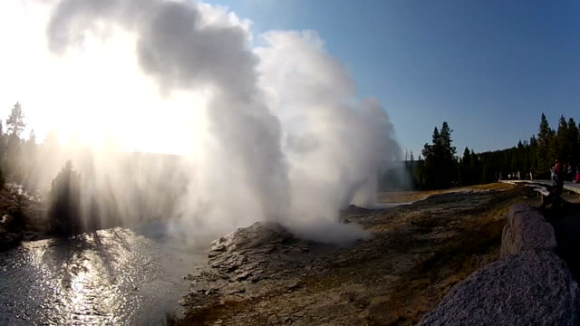 Fan and Mortar Geysers video
