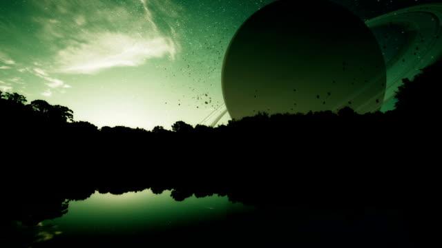 Fantasy Planet Sunrise video