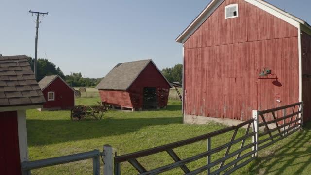 Farm Michigan Farm barns stock videos & royalty-free footage
