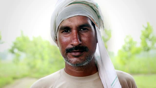 Farmer Smiling Portrait video