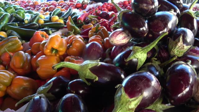 Farmer's Market Vegetables video