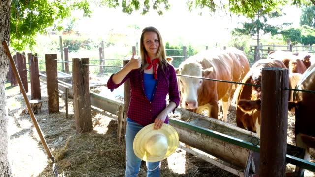 Farming is more than a job Farming is more than a job cowgirl stock videos & royalty-free footage