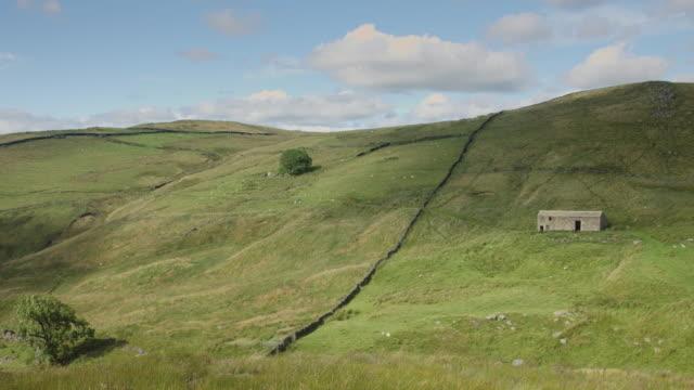Farmland on Yorkshire-Lancashire Border video