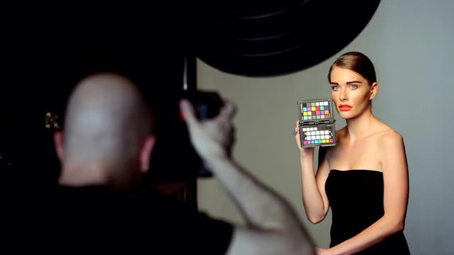Fashion shooting video