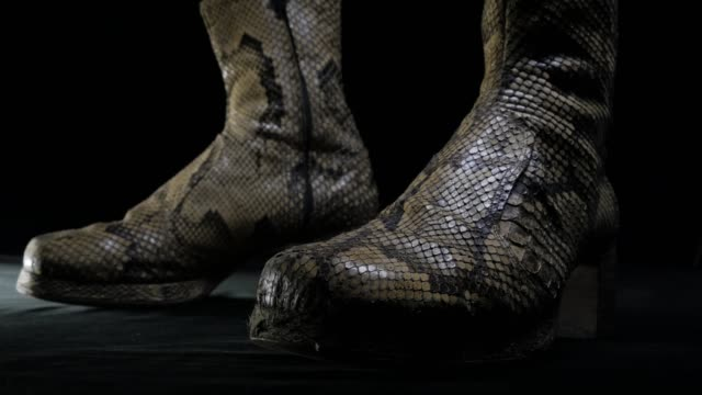 fashion week music star boots - country fashion stock videos & royalty-free footage