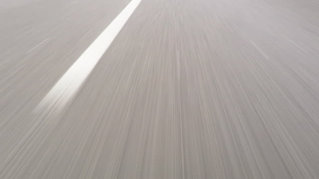 fast car drive on highway - autobahn video stock e b–roll