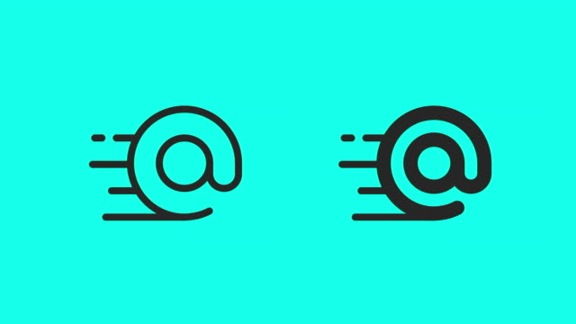 Fast E-Mail Icons - Vector Animate