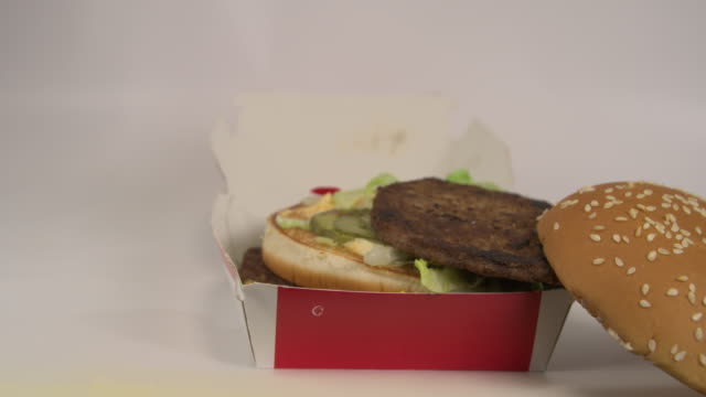 Fast Food Burger with text for inspiration on how it could be used video