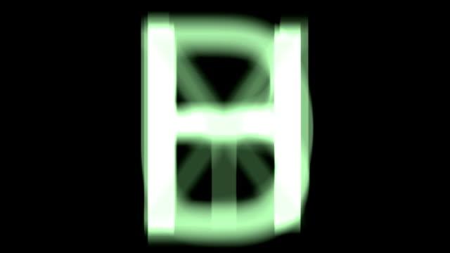 vídeos y material grabado en eventos de stock de rápido de cartas loop. - letra s
