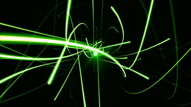 fast light trails - vortice forma geometrica video stock e b–roll