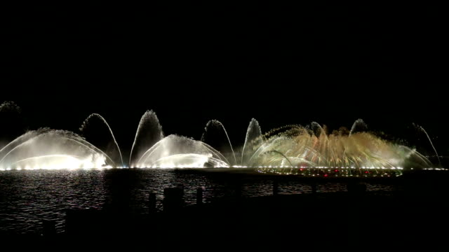Fast Motion - Dancing Fountain video