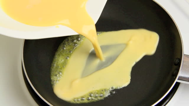 Fast Motion Scrambled Eggs video