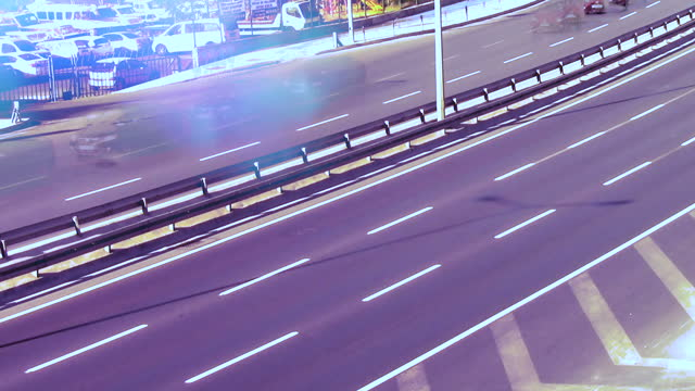 Fast Moving Vehicles on Highways video