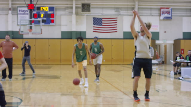 Fast Paced Basketball Practice video