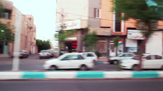Fast Transport on City Street of Yazd, Iran