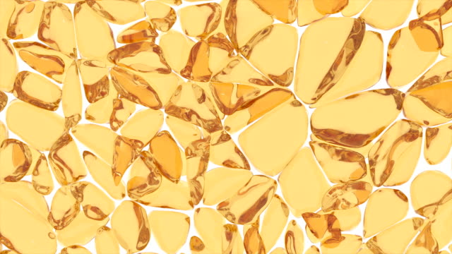 Fat cells are stretched and compressed. Abstract closeup of golden argan oil serum on white background for decoration design. Argan oil. Abstract gold background. Oil splash 4k Fat cells are stretched and compressed. Abstract closeup of golden argan oil serum on white background for decoration design. Argan oil. Abstract gold background. Oil splash 4k serum sample stock videos & royalty-free footage