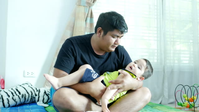 Father At Home With Son video