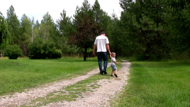 Father Son Walking video