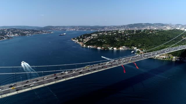 Boğaziçi ile Fatih Sultan Mehmet Köprüsü video