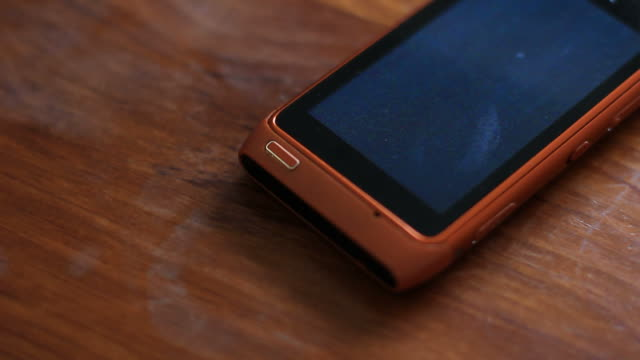 Faulty Cell Phone A cell phone with a faulty screen. obsolete stock videos & royalty-free footage