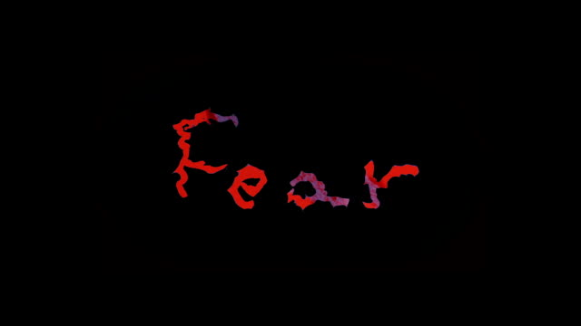'fear' - a medley of the word video
