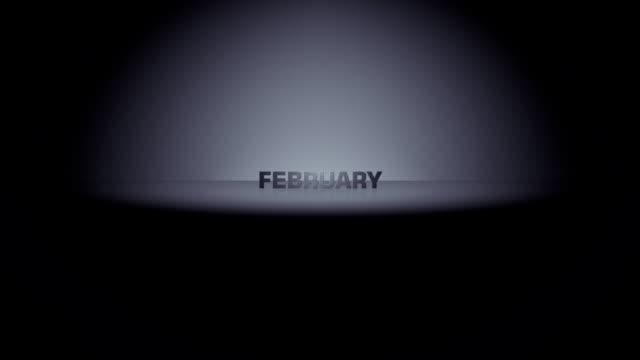 lutego miesiąc horizon zoom - miesiąc filmów i materiałów b-roll