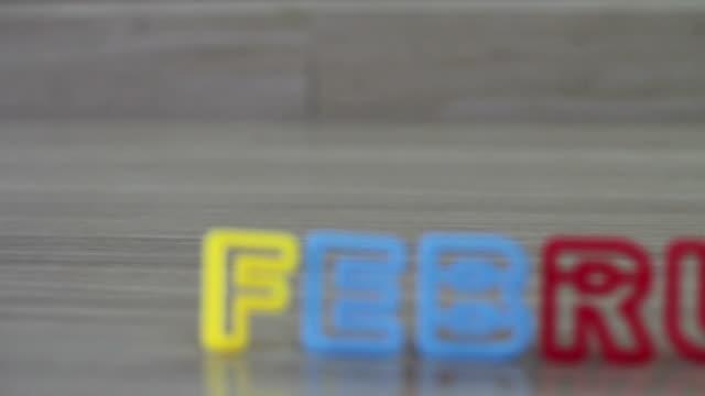 февраля, - new year стоковые видео и кадры b-roll