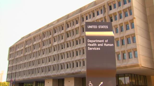 hd federal building health pan1 (1080/24p) - cumhuriyet günü stok videoları ve detay görüntü çekimi