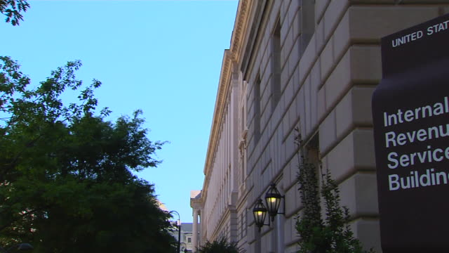 HD Federal Building IRS_Pan1 (1080/24P) video
