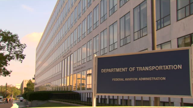 HD Federal Building Transportation_Pan1  (1080/24P) video