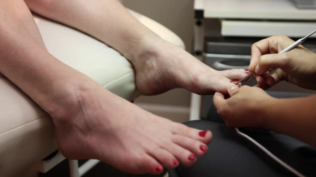Feet Cuticle Treatment video