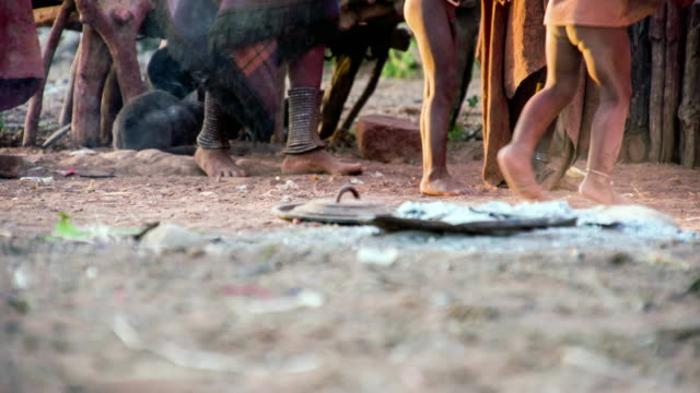 LA Feet Of Himba Tribe video