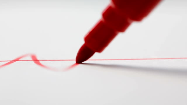 Felt pen making oscillation video
