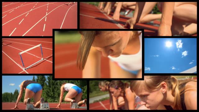 HD MONTAGE: Female Athlete video