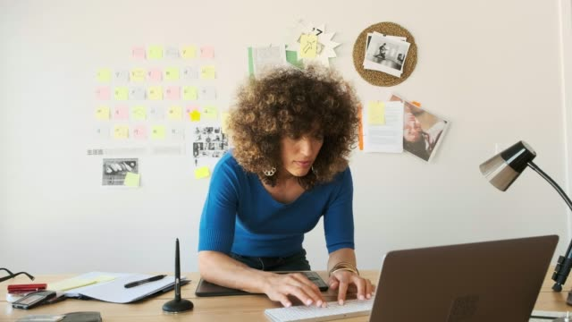 Female Creative Team Working Remotely Female creative professionals collaborating in home office. life balance stock videos & royalty-free footage
