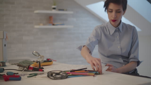 4K: Female Engineer Coloring Book video