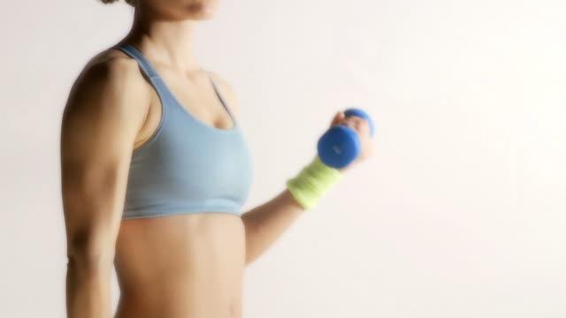 Female Fitness video