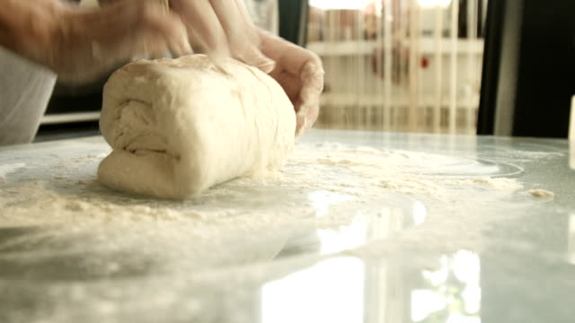 female hands making yeast dough female hands monthly dough ,available in 4K resolution dough stock videos & royalty-free footage