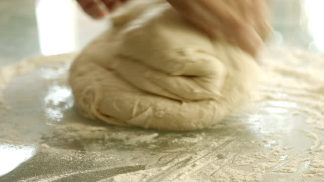 female hands monthly dough video