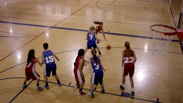 Female High School Basketball Players video