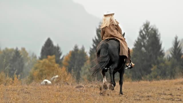 Éleveur de femelles SLO MO DS un cheval au galop - Vidéo