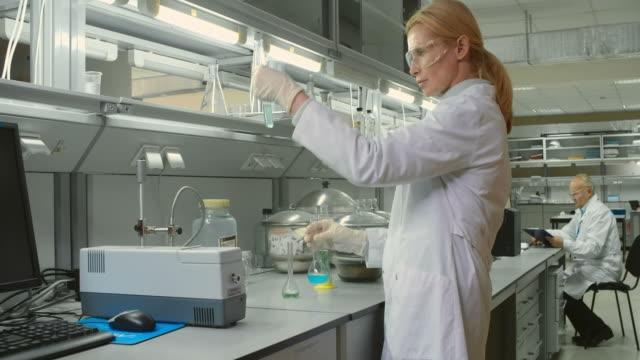 Female Scientist video