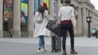 istock Female tourists exploring international city 1224263220