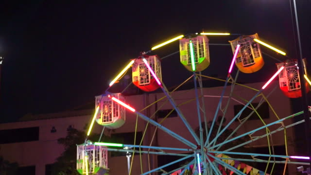 ferris wheel at festival video