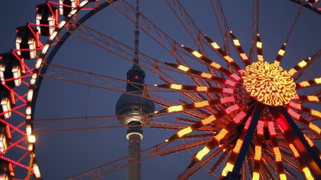 ferris wheel in Berlin video