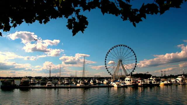 Ferris Wheel on Water 01 video