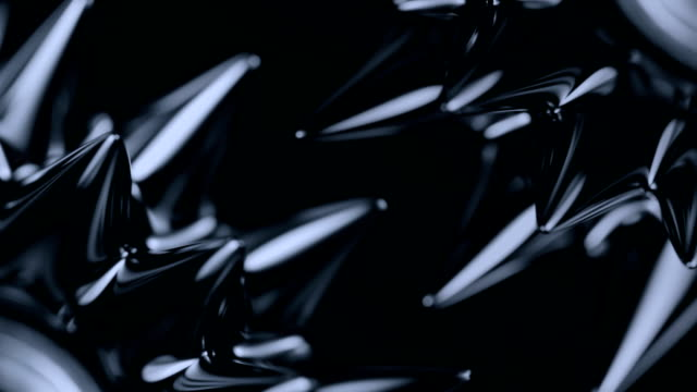 Ferrofluid. Сlose-up Black liquid surface. Abstract background. magnet stock videos & royalty-free footage