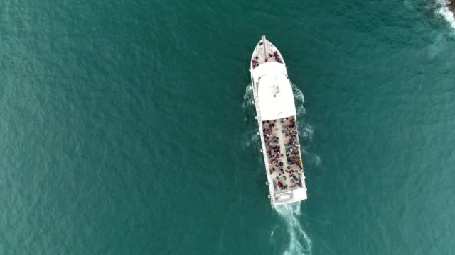 Ferry Boat Top View