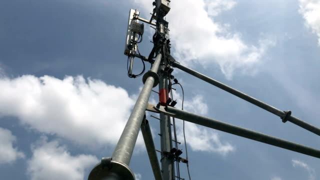 電信網站光纖和設備 - future 個影片檔及 b 捲影像